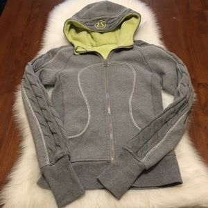Lululemon Scuba Hoodie Special Edition Cable Knit